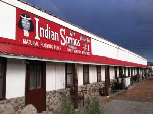 Indian Springs sign - photo by Moshe Koenick