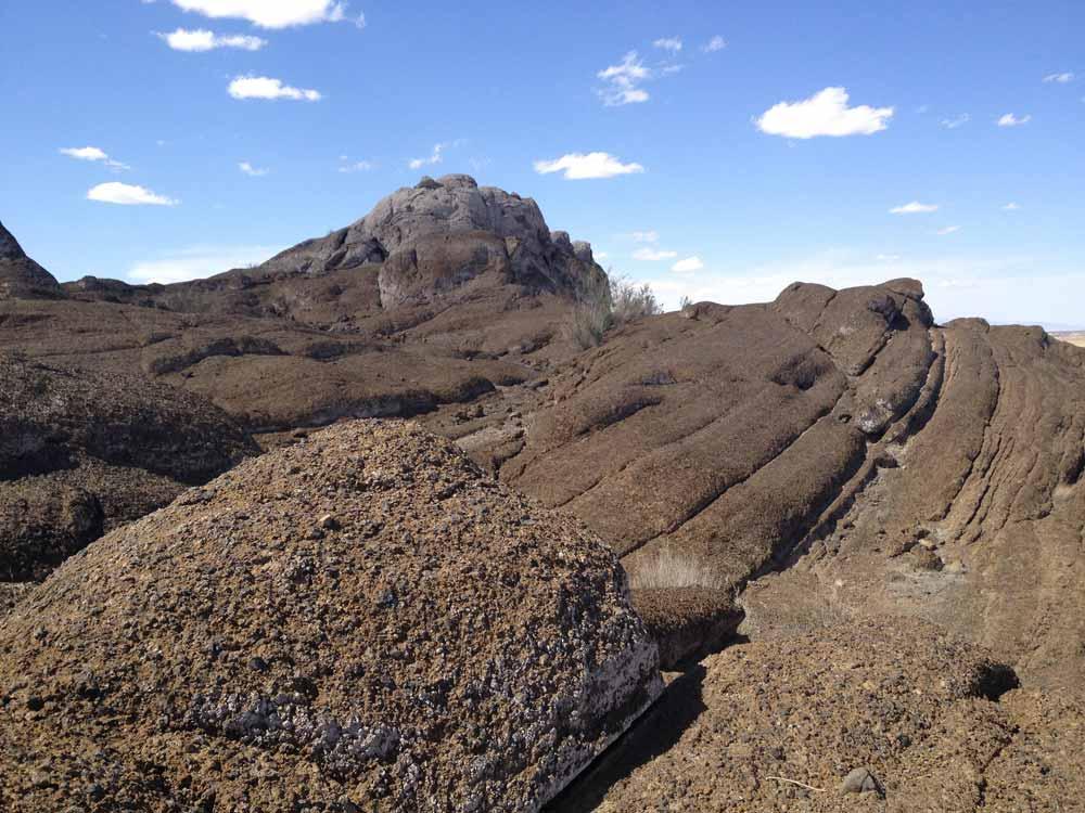 Lava Rocks at Elephant Butte Lake