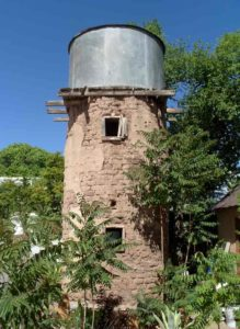 Hillsboro adobe tower