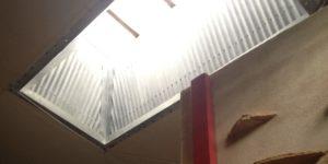 Blackstone Wet Room ceiling