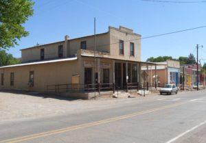 Hillsboro Post Office on Main Street / Highway 152