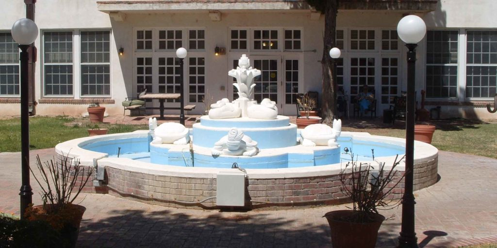 Fountain at the State Veterans Home