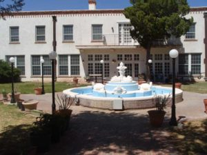 turtle fountain, New Mexico State Veterans Home