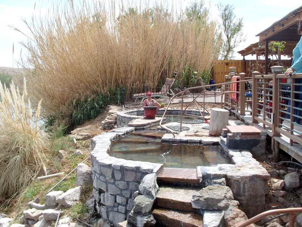 Riverbend Hot Springs baths