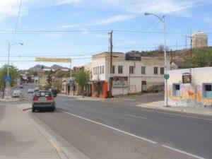 Main Street near Pershing