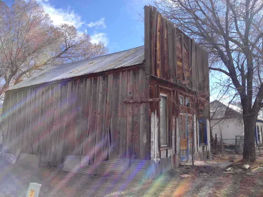 old building in Winston New Mexico