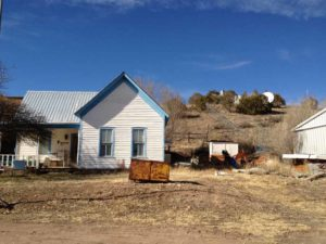 residence in Winston New Mexico